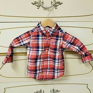 Carter's toddler button up